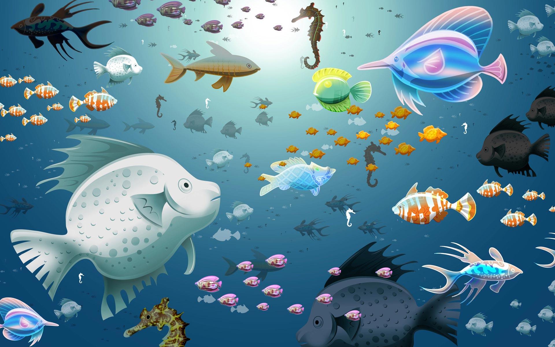 Funny_Virtual_Aquarium